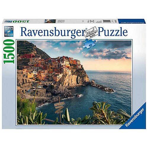Ravensburger Puzzle 1500 Teile, 80x60 cm, Italien Blick auf Cinque Terre