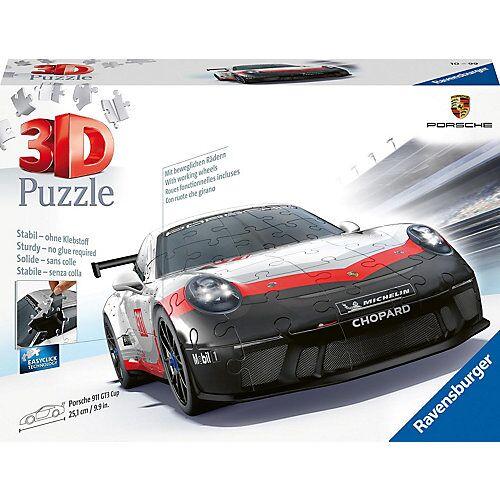 Ravensburger 3D-Puzzle Porsche 911 R GT3 Cup, 108 Teile
