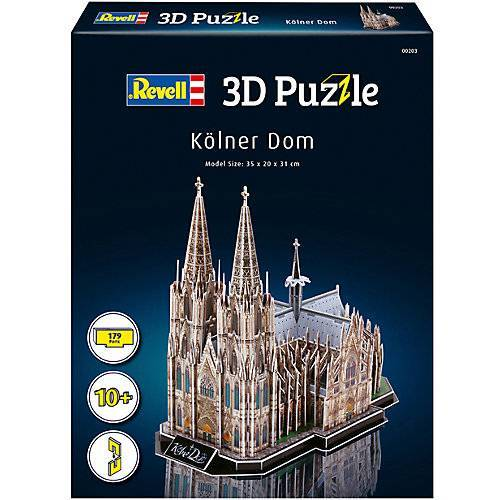 Revell 3D-Puzzle Kölner Dom, 179 Teile