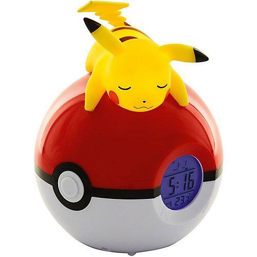Pokemon POKÉMON - Digitaler Radiowecker liegender Pikachu [LED-Lampe]