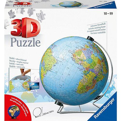Ravensburger 3D-Puzzle Globus Ø22cm, 540 Teile, inkl. Mini-Puzzle-Ball