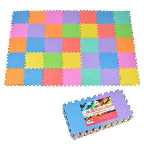 Pink Papaya Puzzlematte mit farbigen Matten Puzzlestar Color bunt