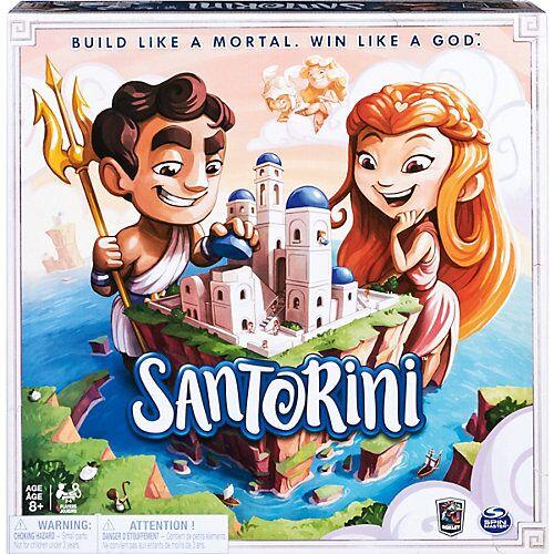 Spin Master Santorini - taktisches 3D-Brettspiel
