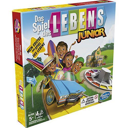 Hasbro Das Spiel des Lebens Junior Brettspiel Kinder ab 5 Jahren, Spiel 2 – 4 Spieler  Kinder