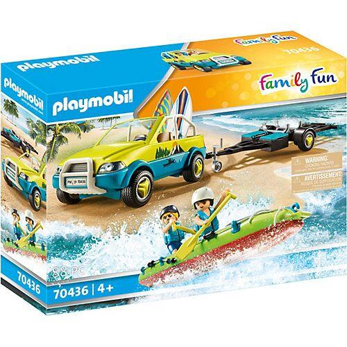 PLAYMOBIL® 70436 Strandauto mit Kanuanhänger