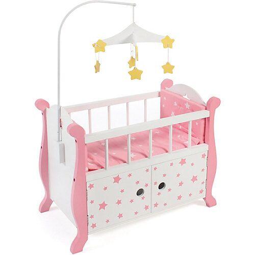 CHIC 2000 Puppenbett mit Mobile pink