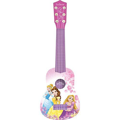 LEXIBOOK Disney Princess Meine erste Gitarre, 53 cm rosa