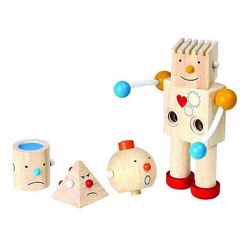 PLANTOYS Lernspiel Roboter Lernspiele