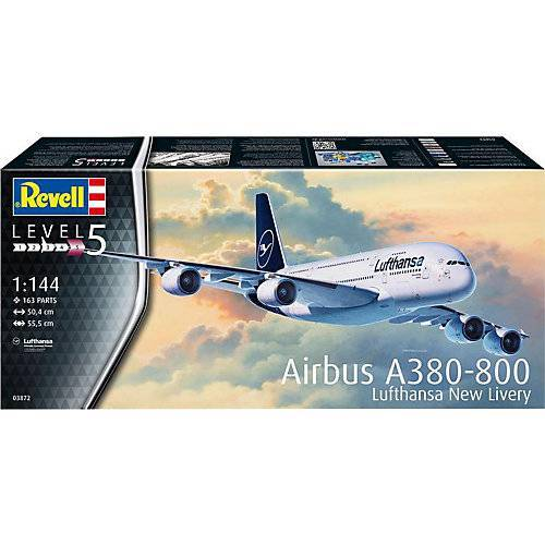 Revell Airbus A380-800 Lufthansa New Livery 1:144