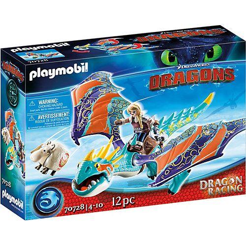 PLAYMOBIL® 70728 PLAYMOBIL Dragons: Astrid und Sturmpfeil