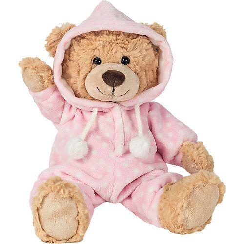 Teddy-Hermann Schlafanzugbär rosa 30 cm