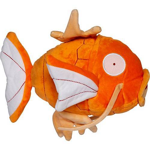 Karpador Monochrom Plüsch 20cm orange