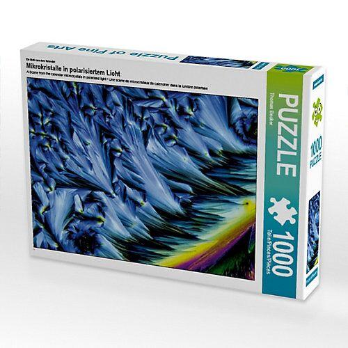 CALVENDO® Mikrokristalle in polarisiertem Licht Foto-Puzzle Bild von Thomas Becker Puzzle