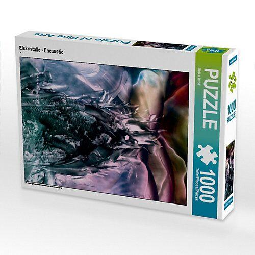 CALVENDO® Eiskristalle - Encaustic Foto-Puzzle Bild von Ulrike Kröll Puzzle
