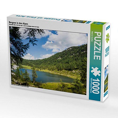 CALVENDO® Bergsee in den Alpen Foto-Puzzle Bild von Marion Gartler Puzzle