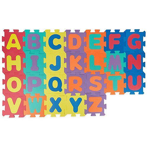 bieco Puzzlematte Baby 59 tlg Spielmatte Baby XXL Puzzle Kinder Krabbeldecke Turnmatte Bodenpuzzle