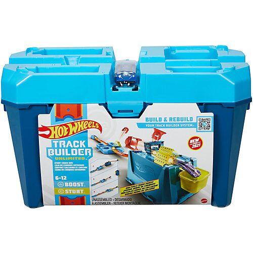 Mattel Hot Wheels Track Builder Unlimited Crash Stunt Box