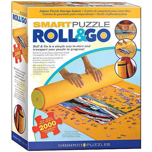 Eurographics Puzzlematte Smart Roll & Go bis zu 2.000 Puzzleteile  Kinder