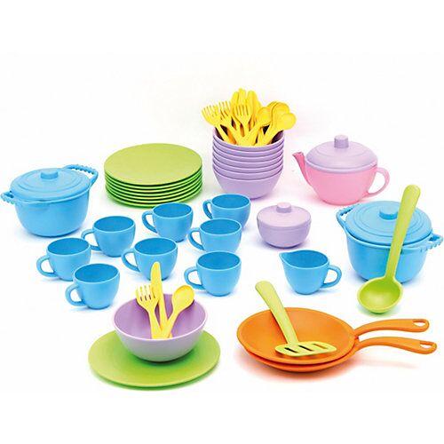 Green Toys Geschirrset gross 61 Teile