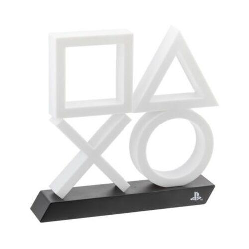 PlayStation Lampe Playstation 5 Logo Icons XL Weiß/Blau Hoch