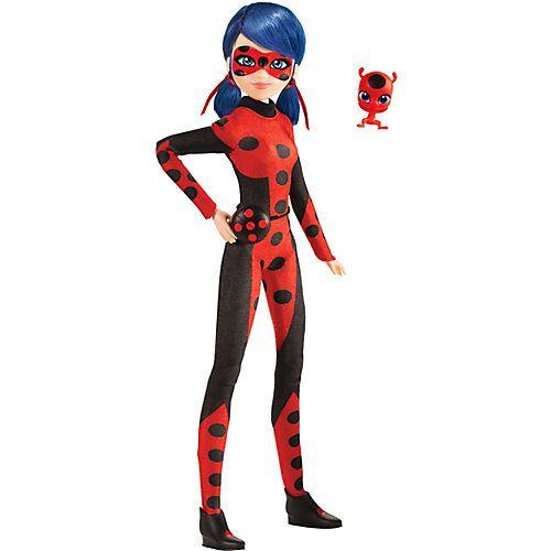 BANDAI Miraculous Puppe 26 cm - Ladybug New