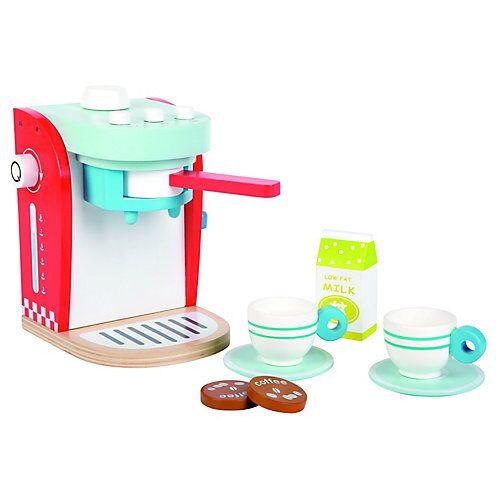Lelin Holzspielzeug Kaffeemaschine bunt