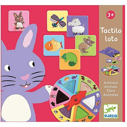 DJECO Tactilo Tastspiel Tiere