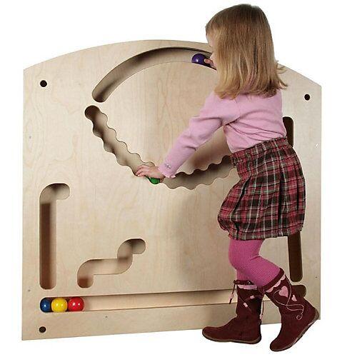 SINA®SPIELZEUG Holzspielzeug Wand-Kuahn groß bunt