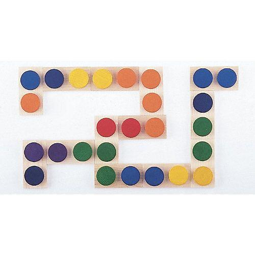 SINA®SPIELZEUG Holzspielzeug Farben Domino