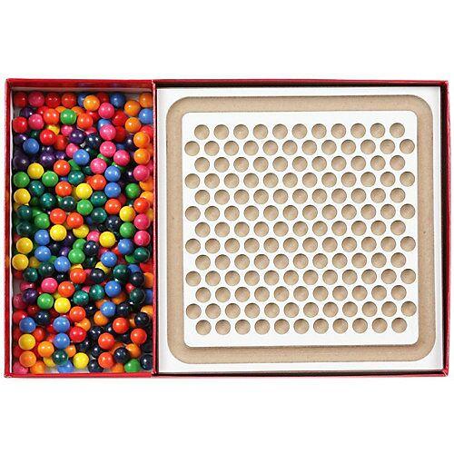 SINA®SPIELZEUG Holzspielzeug Mini-Kugelspiel