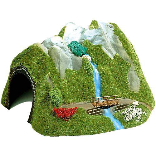 Busch Tunnel mit Wasserfall H0