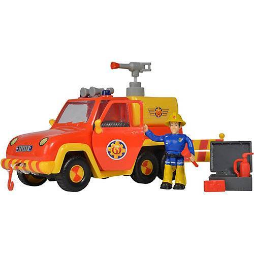 Simba Feuerwehrmann Sam - Feuerwehrauto Venus mit Figur