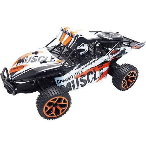 """Amewi """"RC Sand Buggy Extreme D5  """"""""white-orange"""""""" 1:18  4WD RTR"""""""