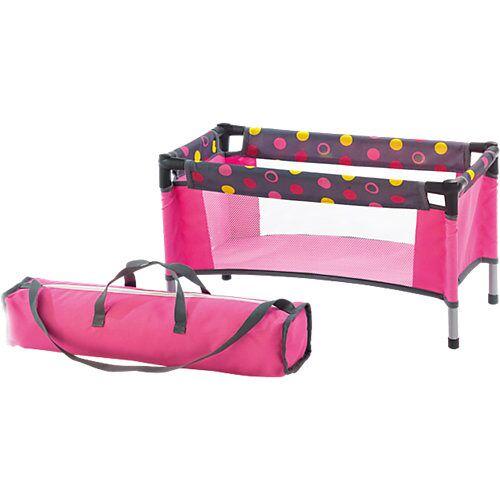 CHIC 2000 Puppen-Reisebett Dark Pink