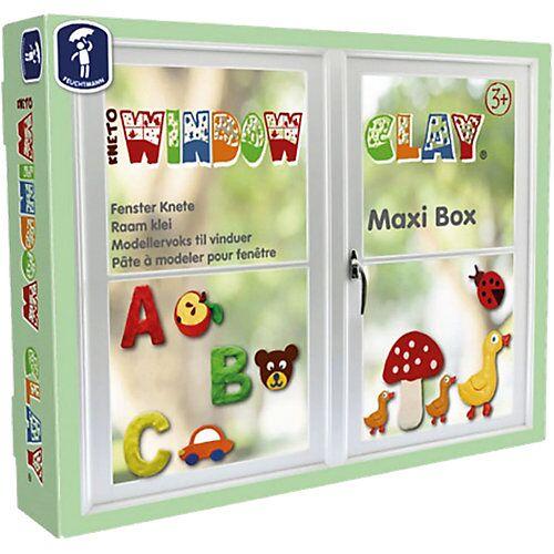 Feuchtmann Window Clay Maxi-Box Fensterknete, 10 x 50 g