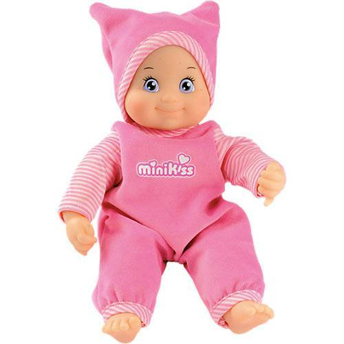 Smoby MinikKiss Puppe, rosa