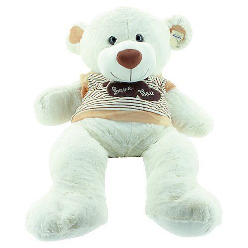 Sweety Toys Riesen Teddybär 120 cm beige