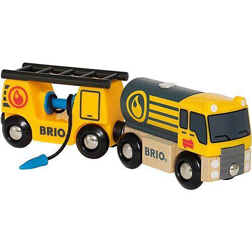 BRIO Tankwagen mit Anhänger