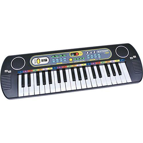 Bontempi Digitales Keyboard weiß/grau