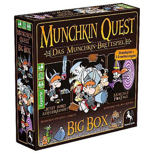 Pegasus Munchkin Quest: Das Brettspiel, 2. Edition (Spiel)