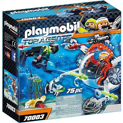 PLAYMOBIL® PLAYMOBIL 70003 Spy Team Sub Bot