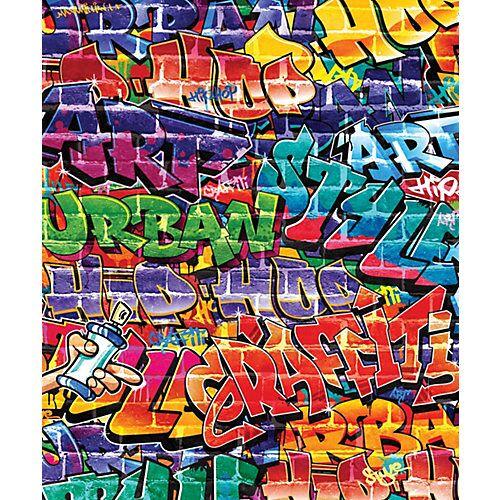 Walltastic Fototapete Graffiti, 8 tlg.