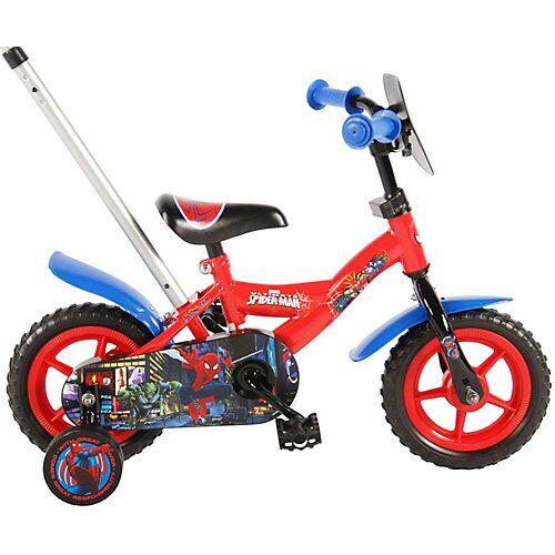 Volare Kinderfahrrad - Jungen - 10 Zoll - Rot / Blau rot