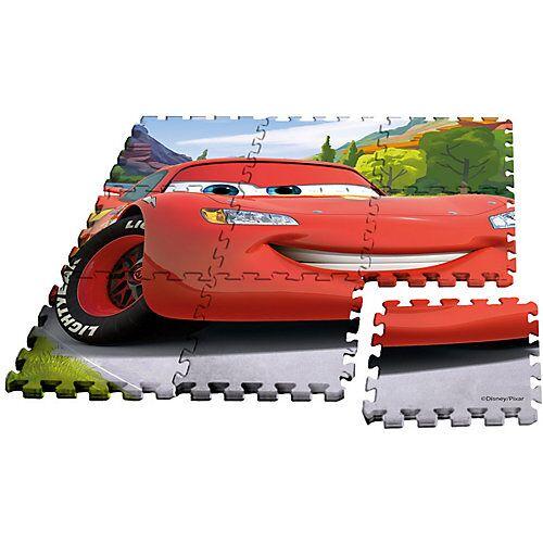 Disney Cars Cars Puzzlespielmatte, Moosgummi, 9-tlg.