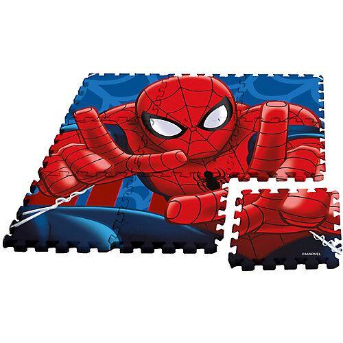 Spider-Man Puzzlespielmatte, Moosgummi, 9-tlg.