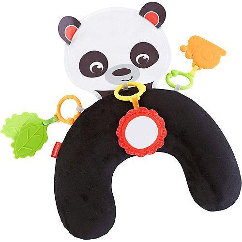 Mattel Fisher-Price Panda-Spielkissen Bauchlage, Baby-Spielzeug Neugeborene  Kinder