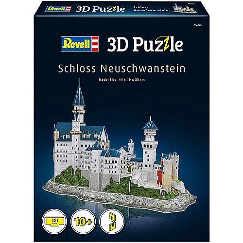 Revell 3D-Puzzle Schloss Neuschwanstein, 121 Teile