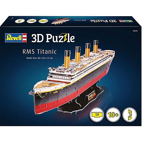Revell 3D-Puzzle RMS Titanic, 113 Teile