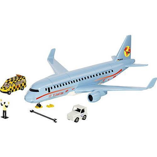 SIKU Verkehrsflugzeug mit Zubehör