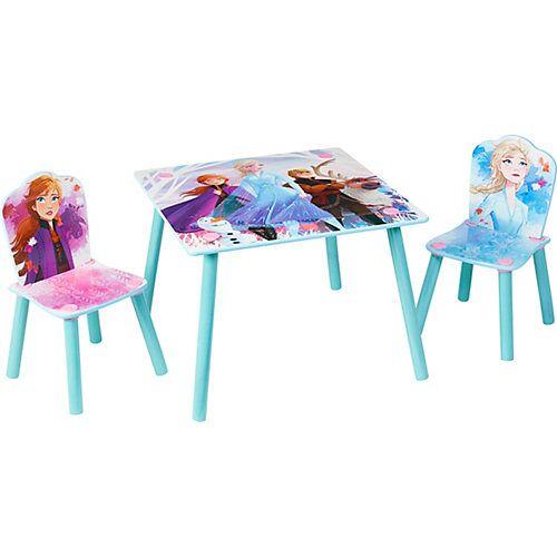 WORLDS APART Kindersitzgruppe Frozen 2, 3-tlg. hellblau